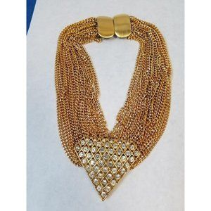 Jay Feinberg (Strongwater) 80s statement necklace
